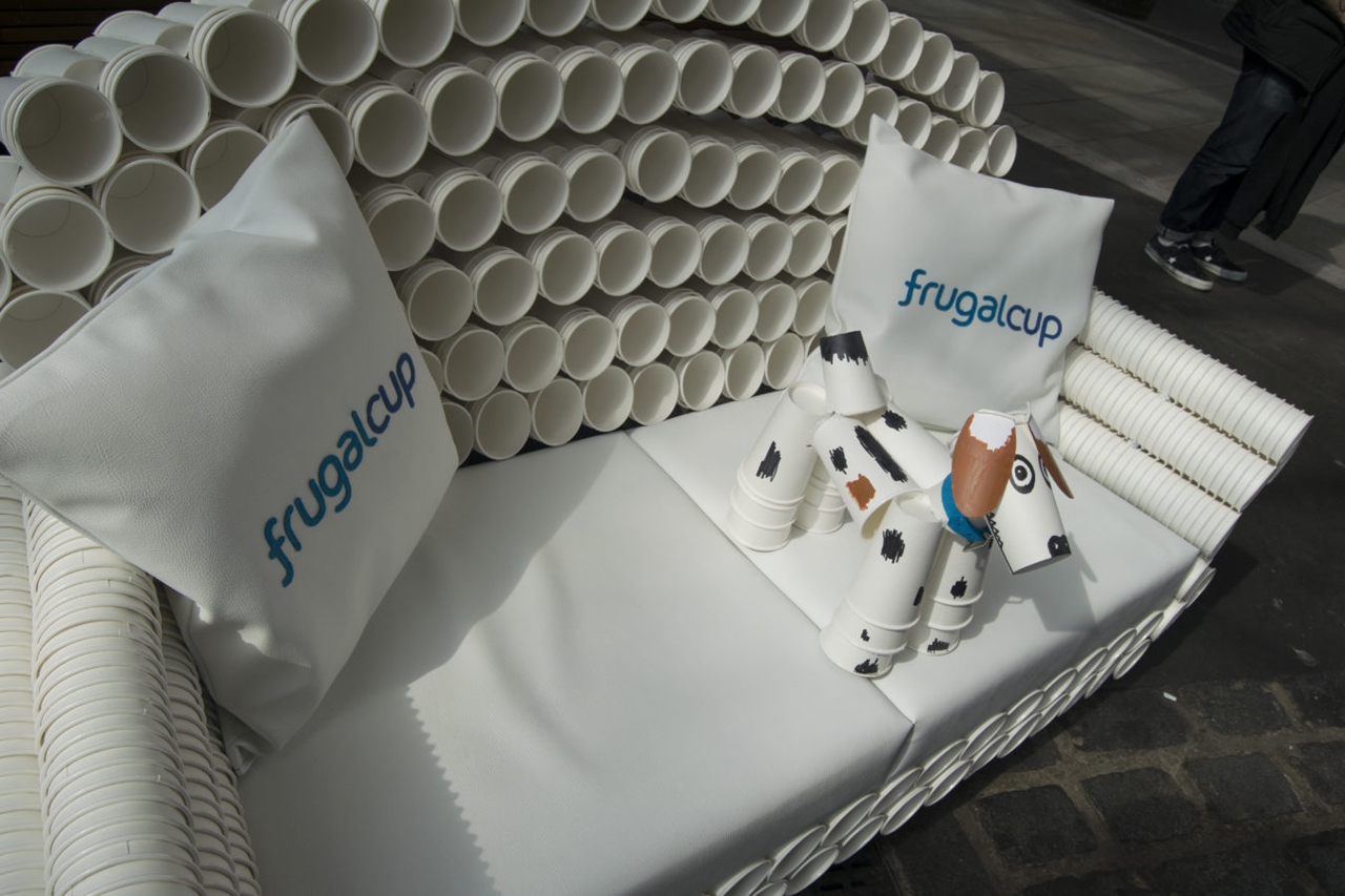 Frugalpac joins Paper Cup Recovery and Recycling Group