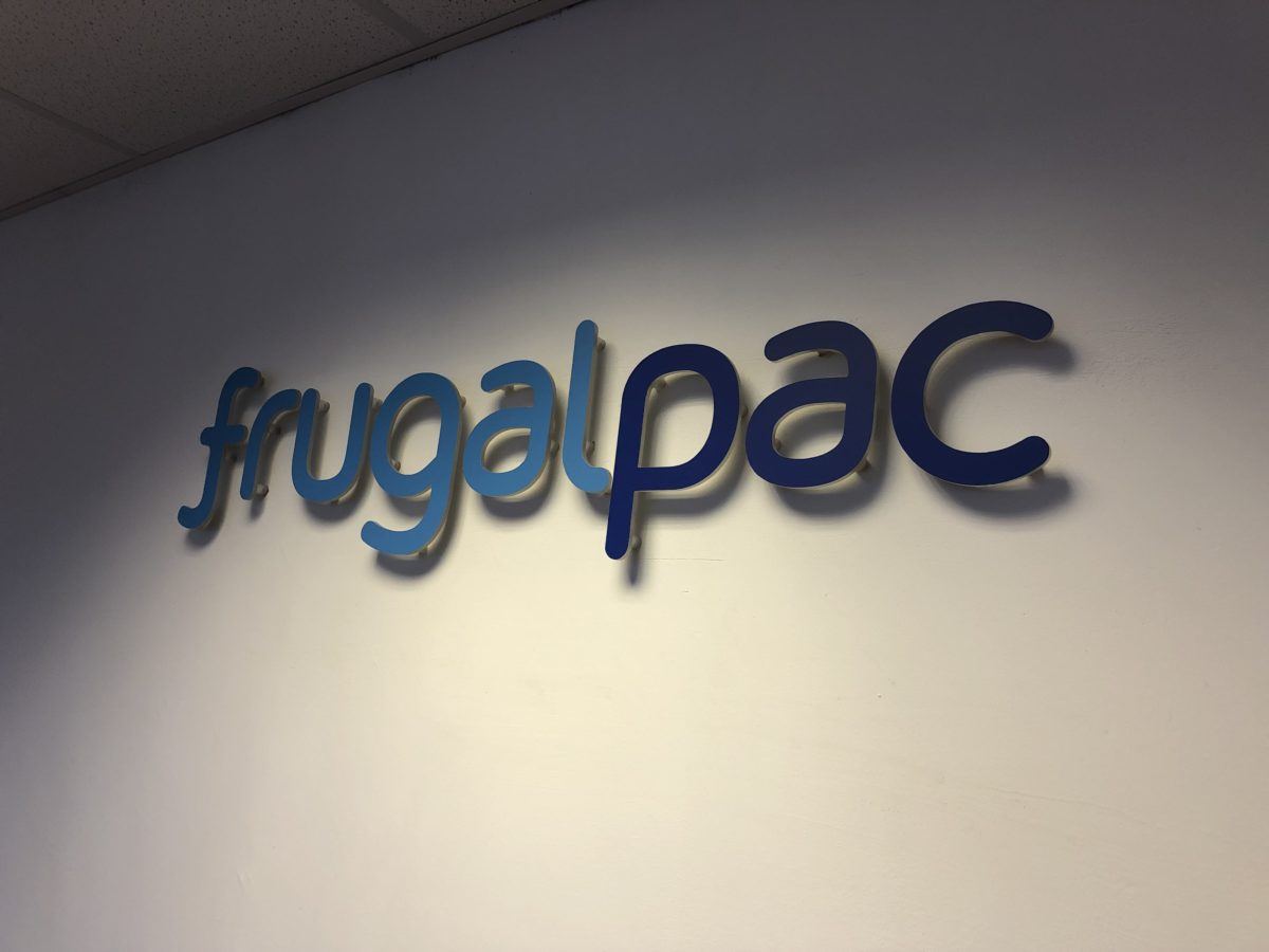Frugalpac's new factory in the news