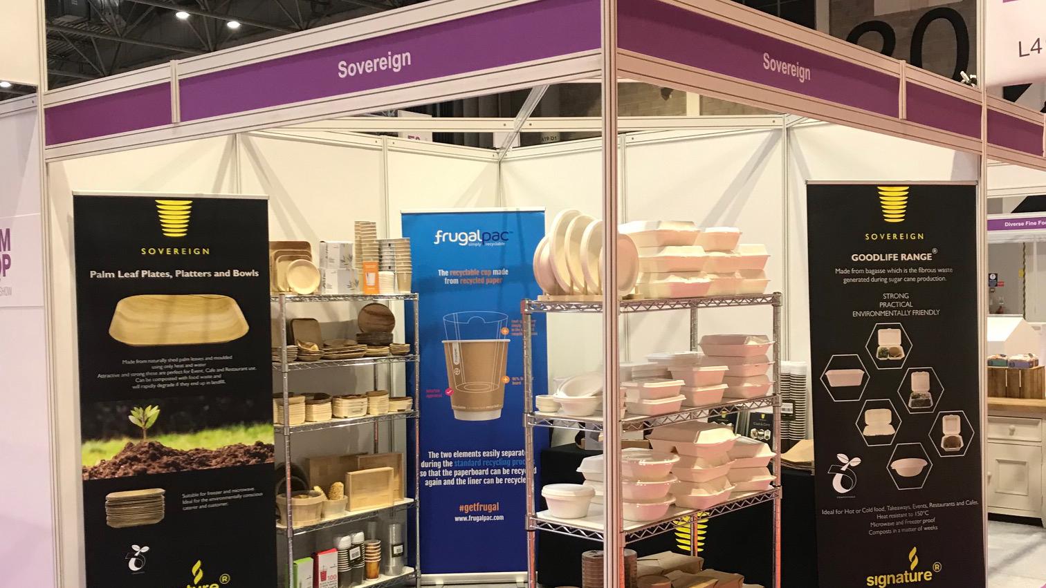 Frugalpac joins Farm Shop & Deli Show