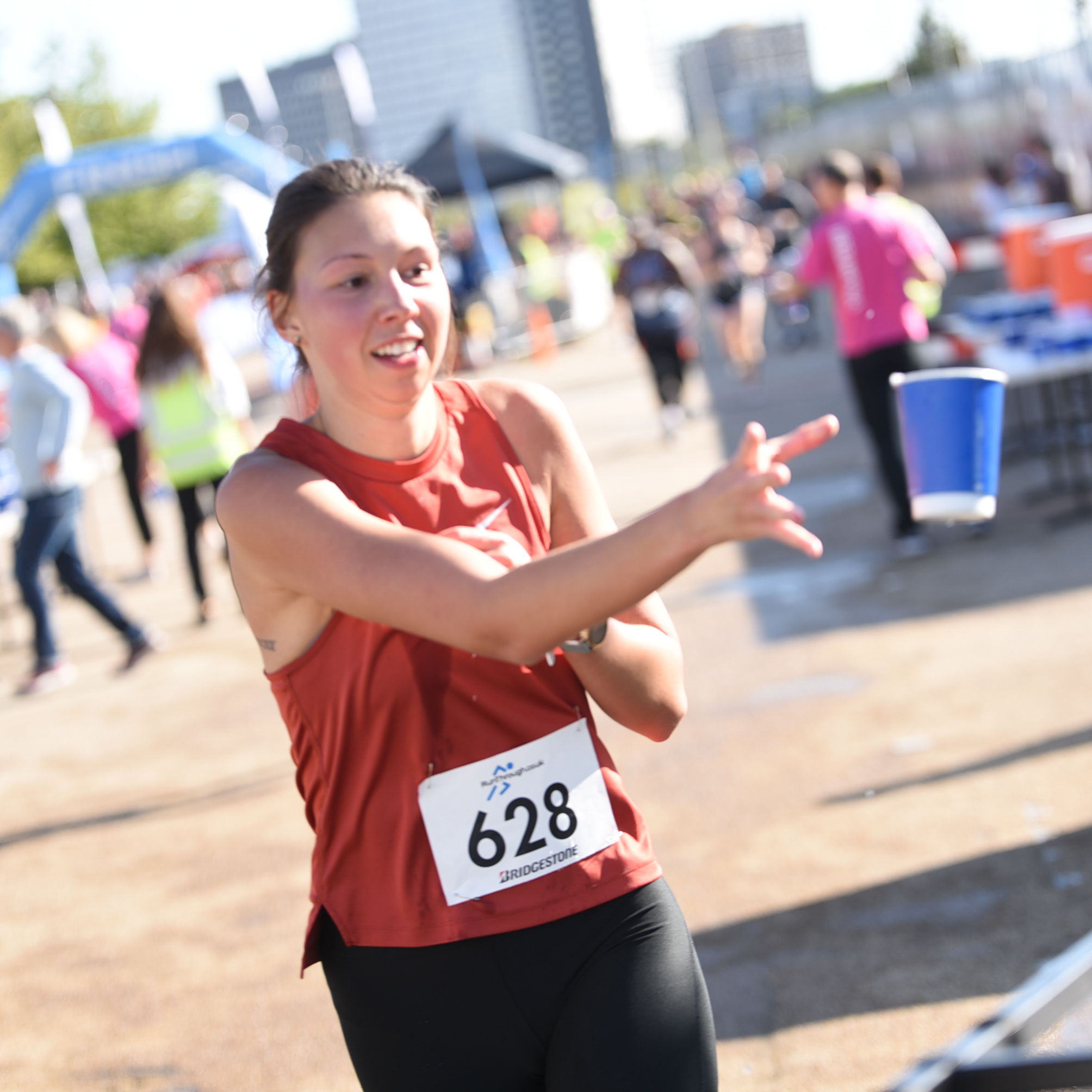 Frugal Cups offered to London runners at Olympic Park run
