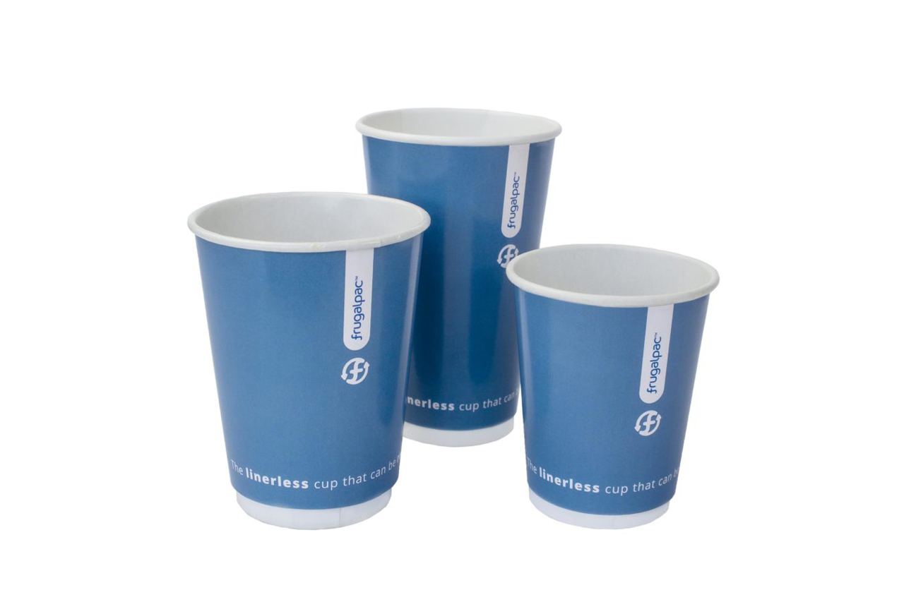 Frugalpac introduces innovative Frugal Cup Linerless