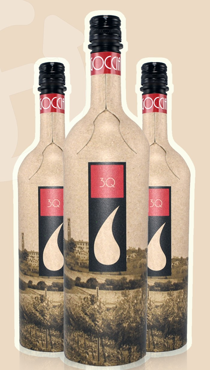 Frugal Bottle – the recycled paper wine bottle that thinks outside the (wine) box