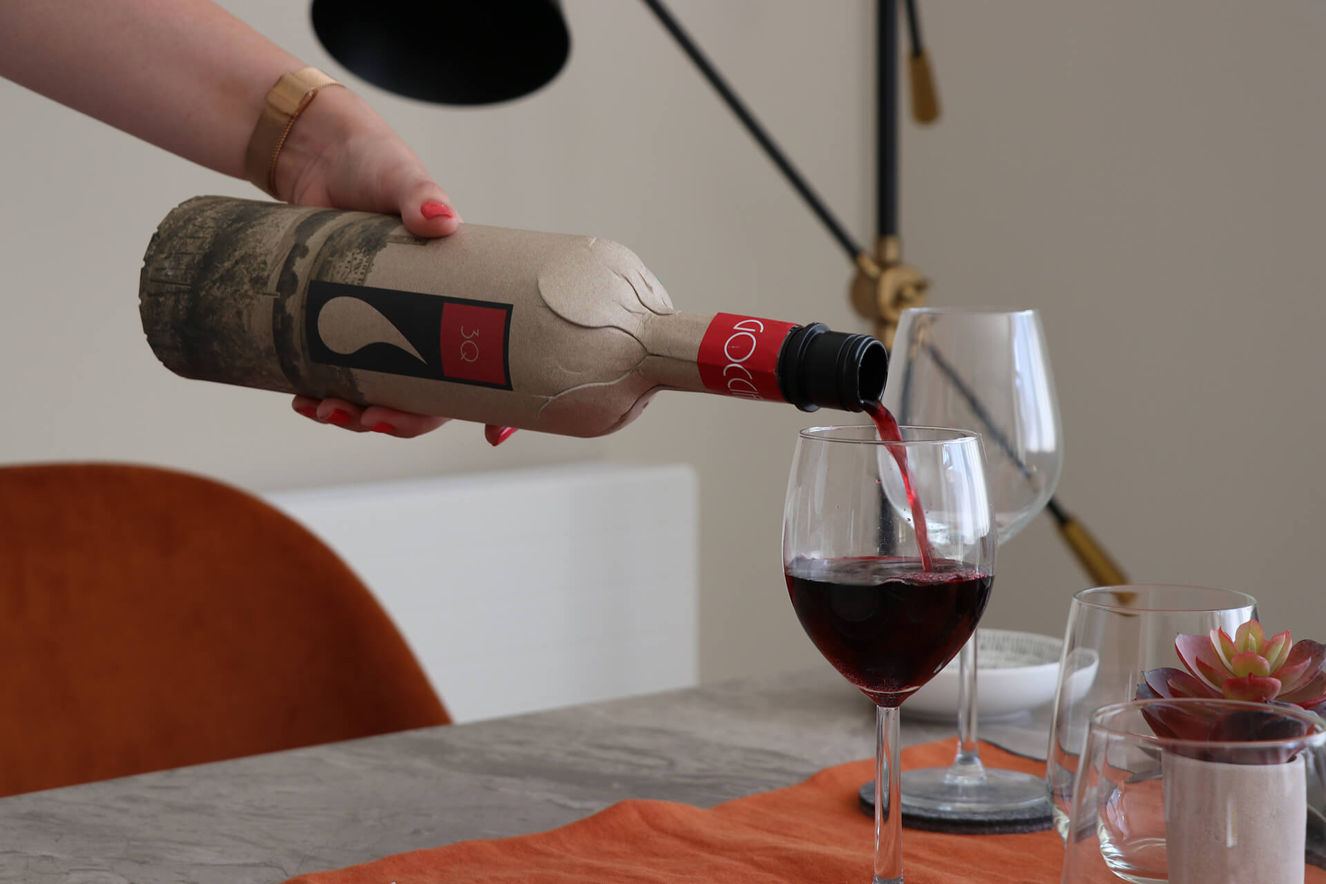 Cheers! Two thirds of wine drinkers would buy wine in a paper bottle as Frugalpac ramps up production to meet global demand